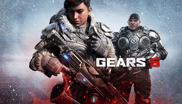 Gears 5 game art