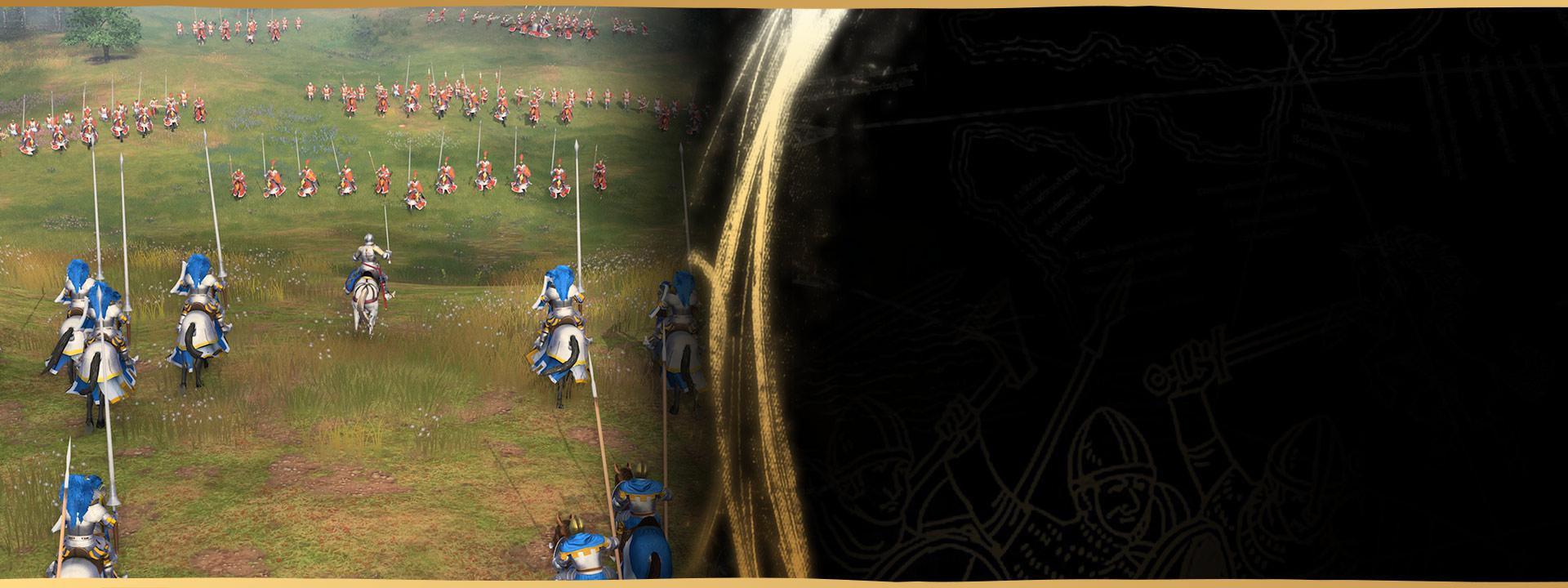 Skjermbilde fra Age of Empires IV