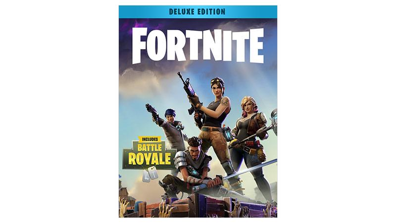 Fortnite Battle Royale deluxe edition boxshot