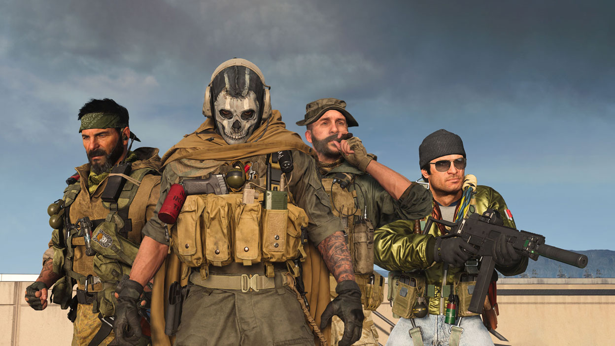 Operators from Black Ops Cold War lined up
