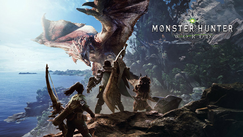 MONSTER HUNTER: WORLD™ box art.
