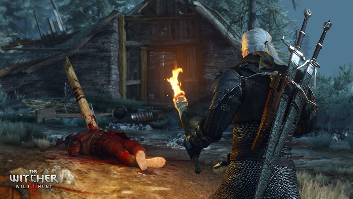 The Witcher 3: Wild Hunt – Geplünderte Hütte