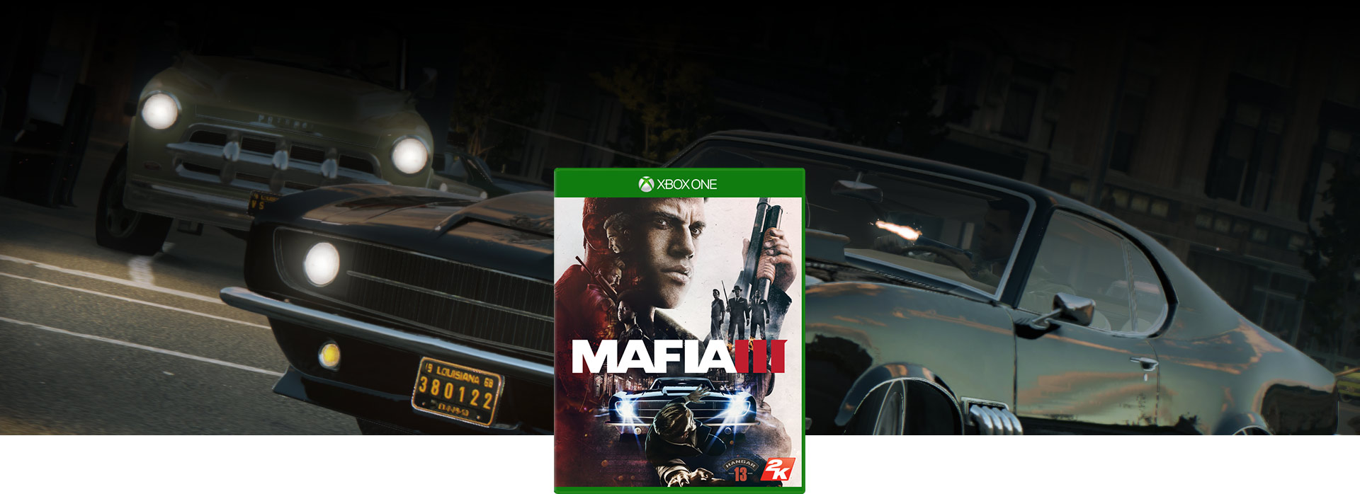 Mafia III-coverbillede