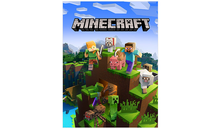 Minecraft xbox one edition -pakkauksen kansi