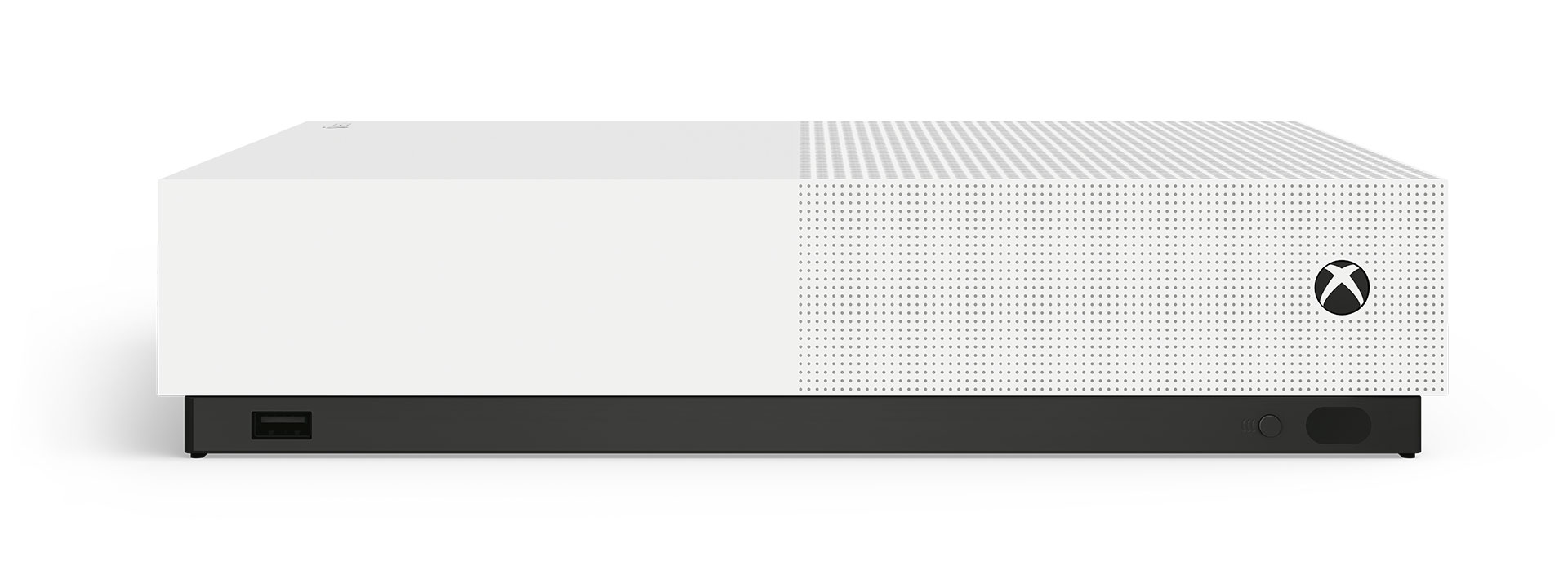 Xbox One S-konsol med en Xbox trådlös handkontroll