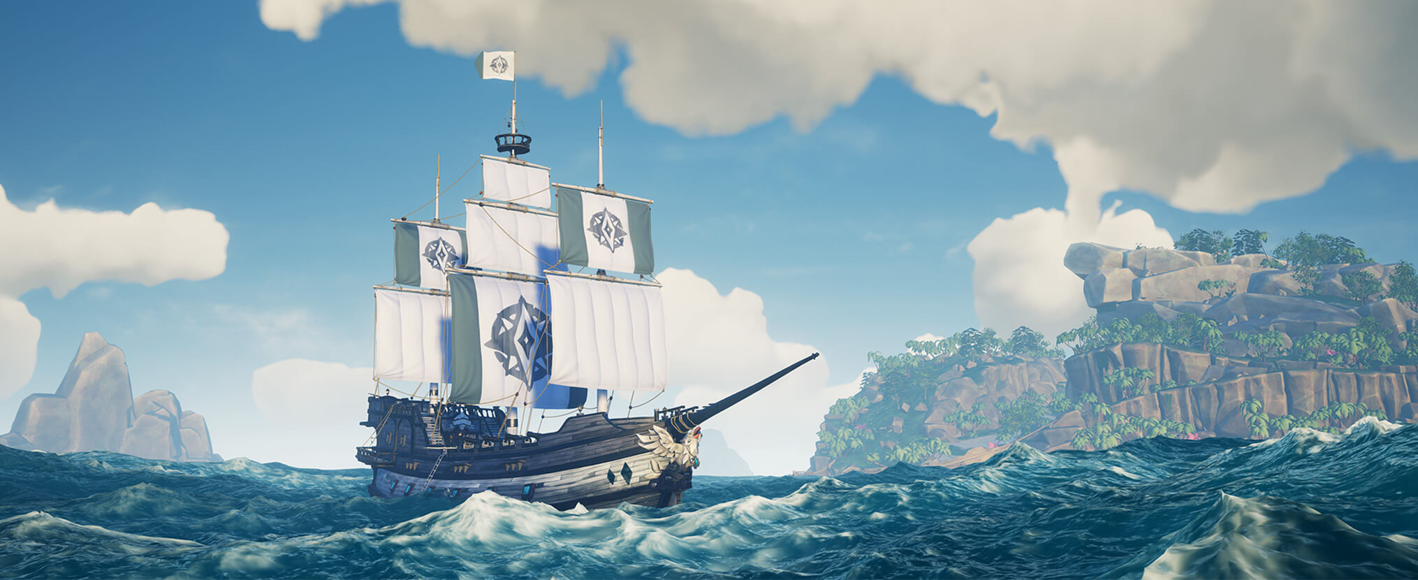 Sea of Thieves Insider Programme ship cosmetics