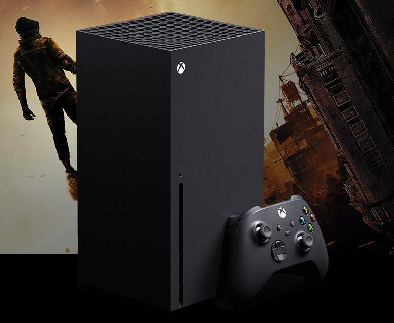 Xbox Series X console plus controller