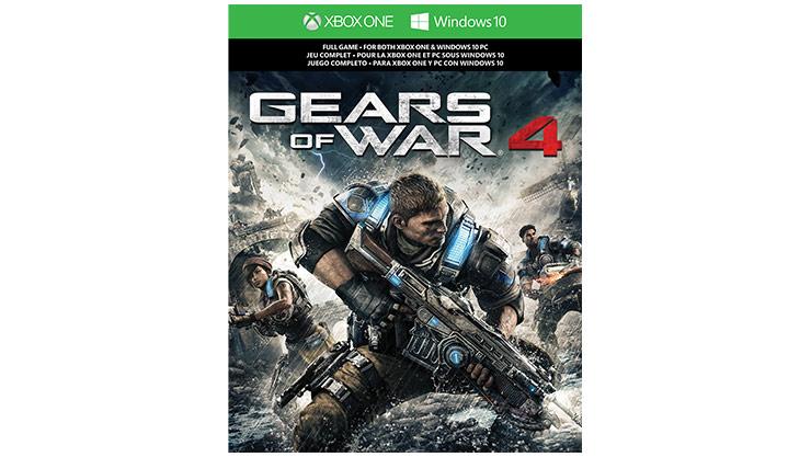 Imagen de la caja de Gears of War 4