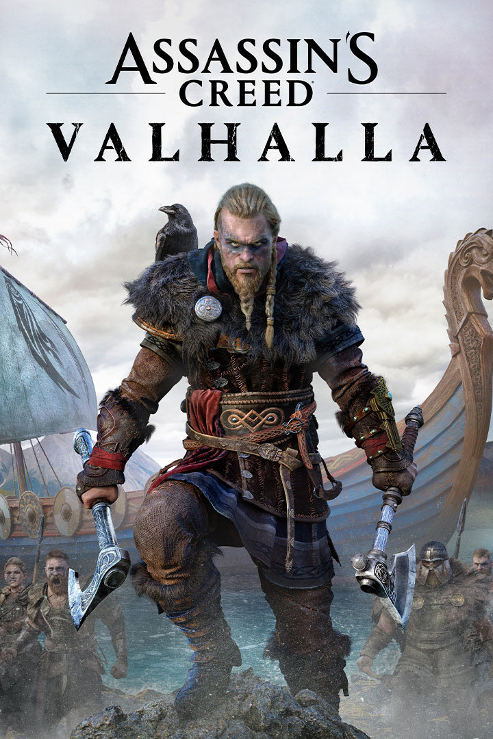 Assassin's Creed Valhalla-coverbillede