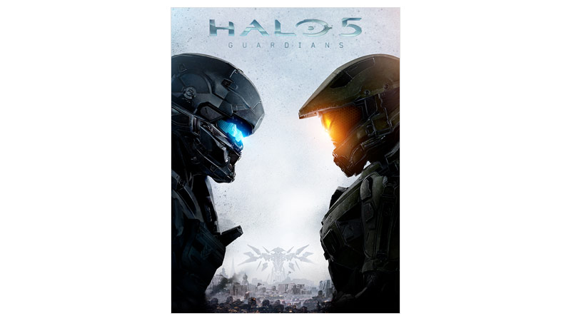 Imagem da caixa do Halo 5 Guardians Standard Edition