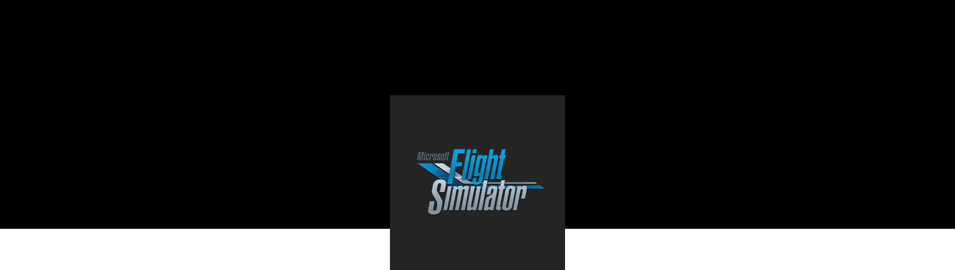 Microsoft Flight Simulator 標誌