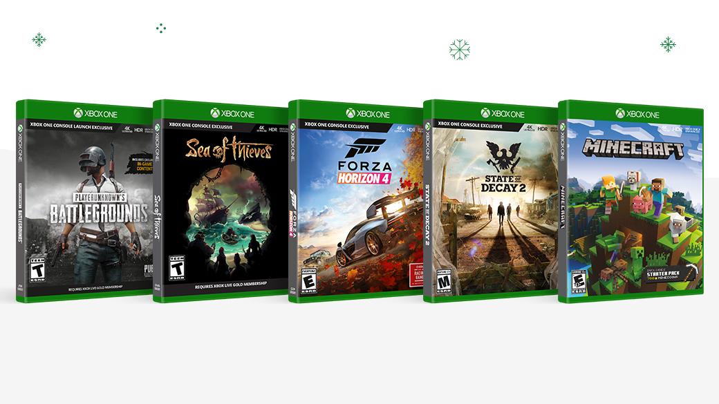 Économisez jusqu'à 40 $ sur les jeux Xbox One (disque) sélectionnés