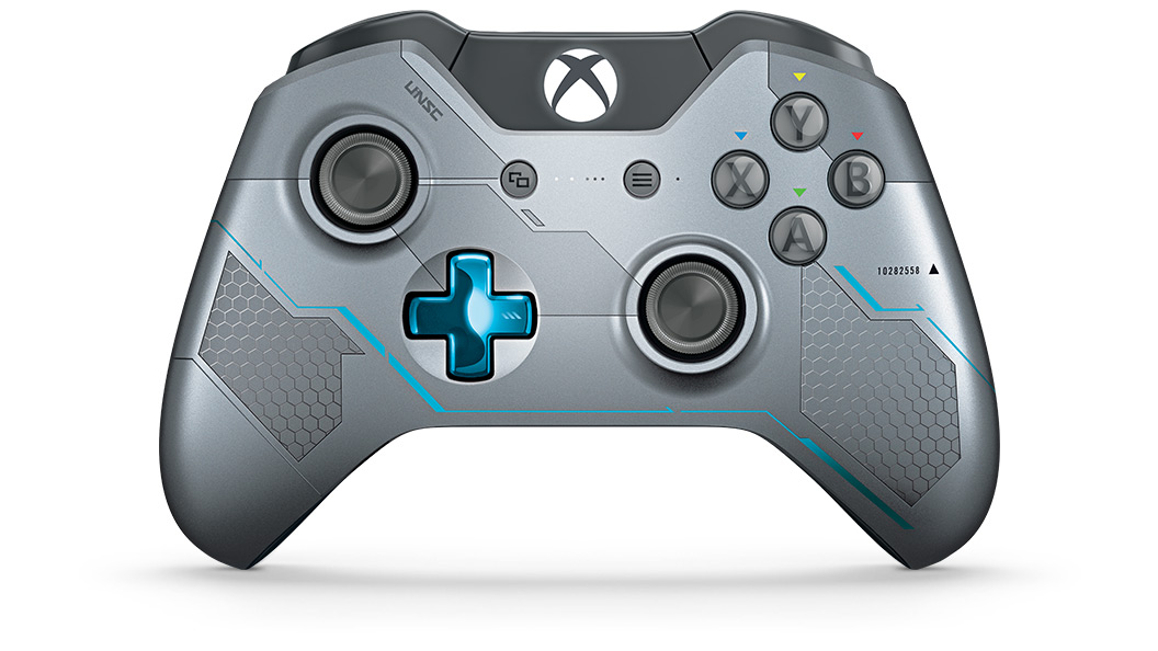 Halo 5 Guardians Controller set forfra