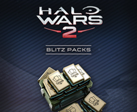 40 packs de Blitz de Halo Wars