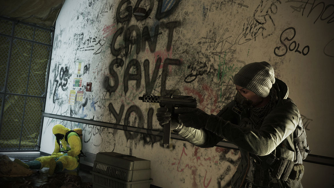 Tom Clancy's The Division – Agent med kulsprutepistol