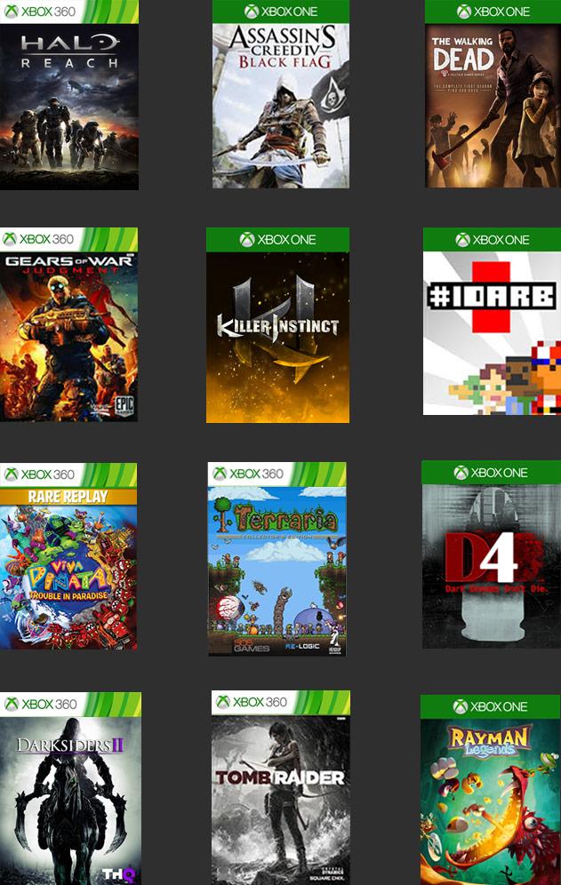 Xbox One Online Spiele