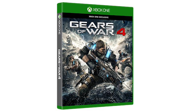 Gears of War 4 Standard Edition kutu resmi