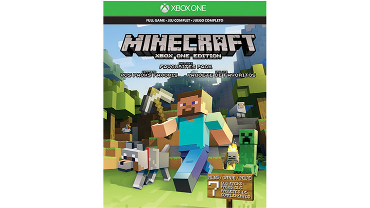 minecraft xbox one favourites pack