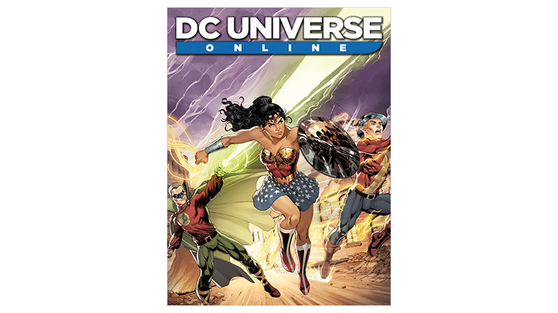 DC Universe Online Standard Edition – Verpackung