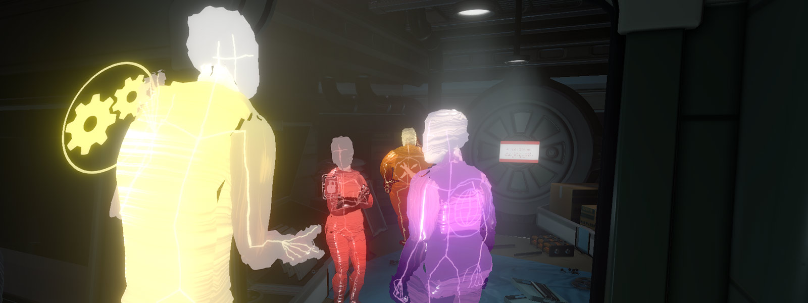 AI view of crew discussion