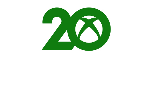 Green 20 with an Xbox logo in the zero.