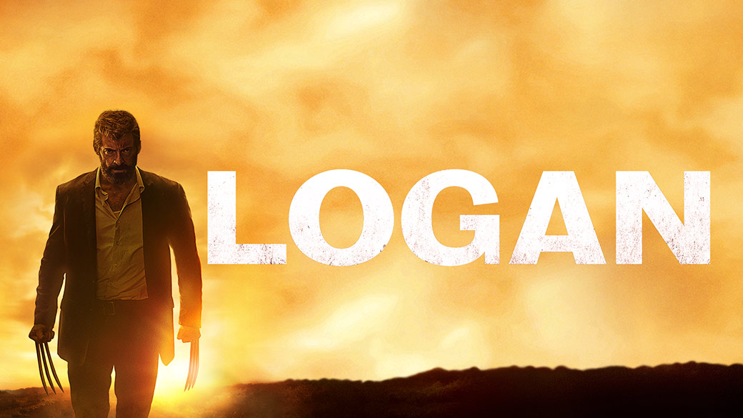 Wolverine stalks forward with his claws unsheathed from the film Logan