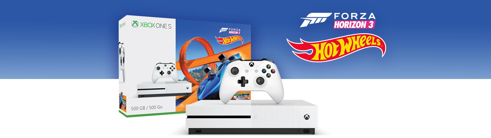 Xbox One S Forza Horizon 3 Hot Wheels Bundle (500GB)