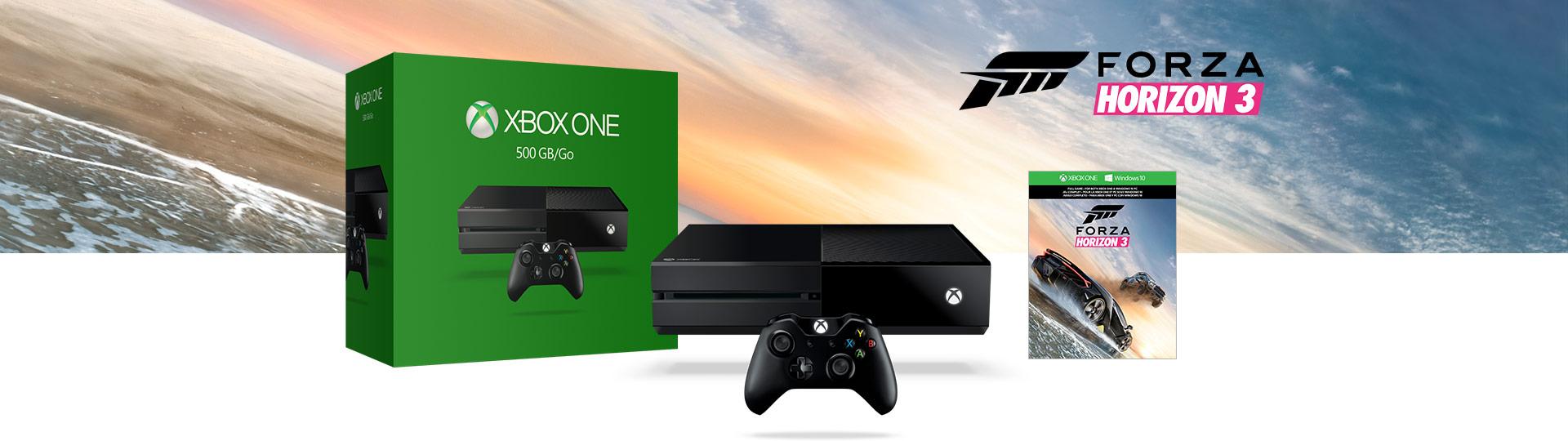 Forza Horizon 3 500GB Bundle
