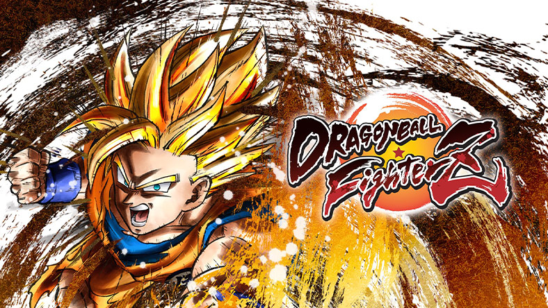 DRAGON BALL FIGHTERZ box art.