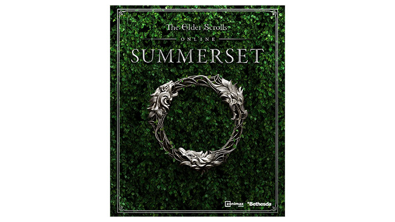 The Elder Scrolls Online: Summerset -pakkauksen kansi