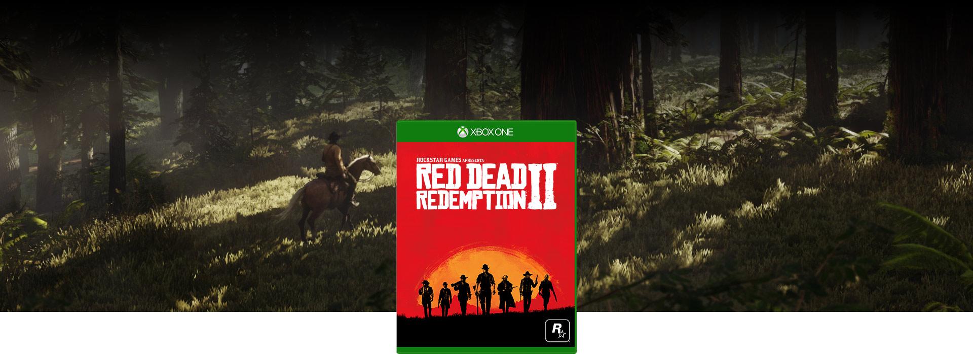 Imagem da caixa do Red Dead Redemption 2