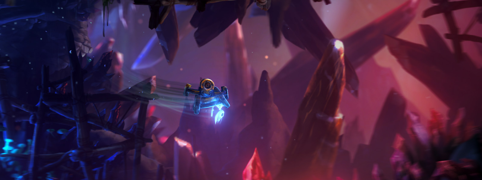 Screenshot di Ori and the Will of the Wisps