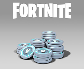 Fortnite, A large pile of coins with V on them