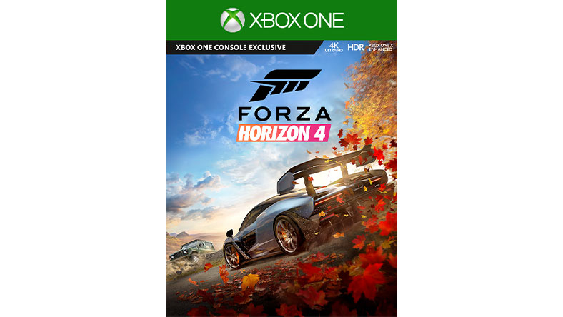 Forza Horizon 4-coverbilde