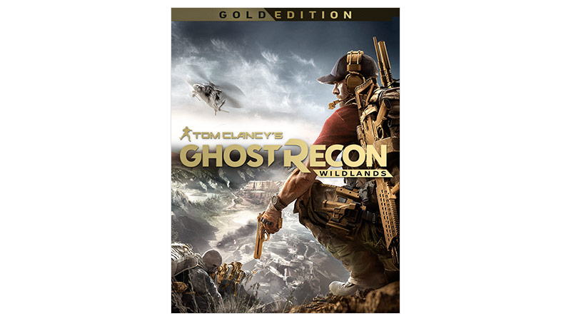 Ghost Recon Wildlands Gold Edition box shot