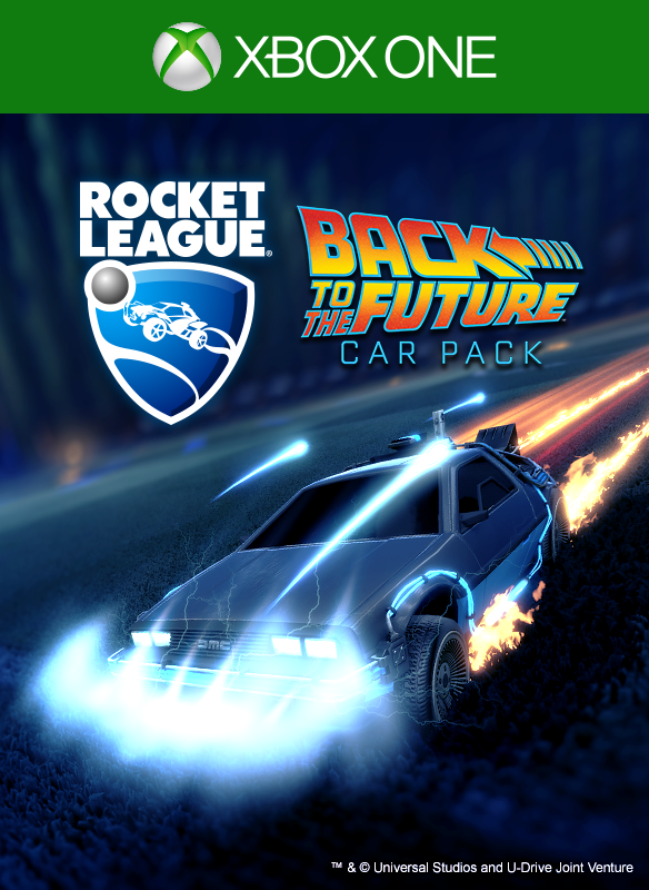 Rocket League ⎼ Back to the Future™ Car Pack