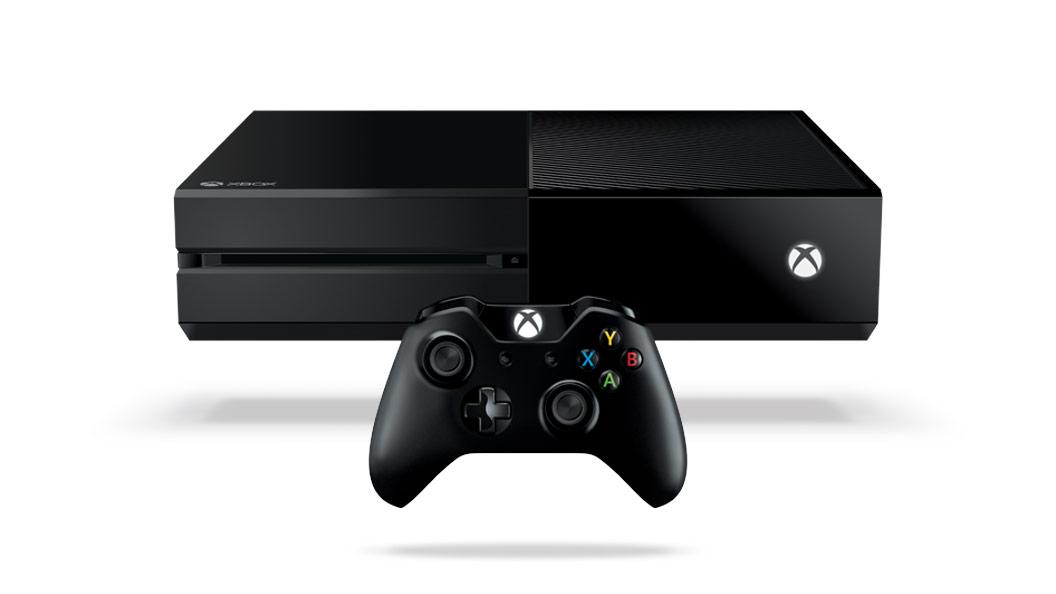 Parte delantera de la consola XboxOne