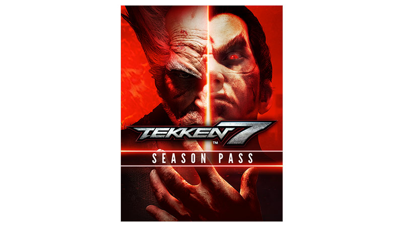 Tekken 7 Season Pass 包裝圖