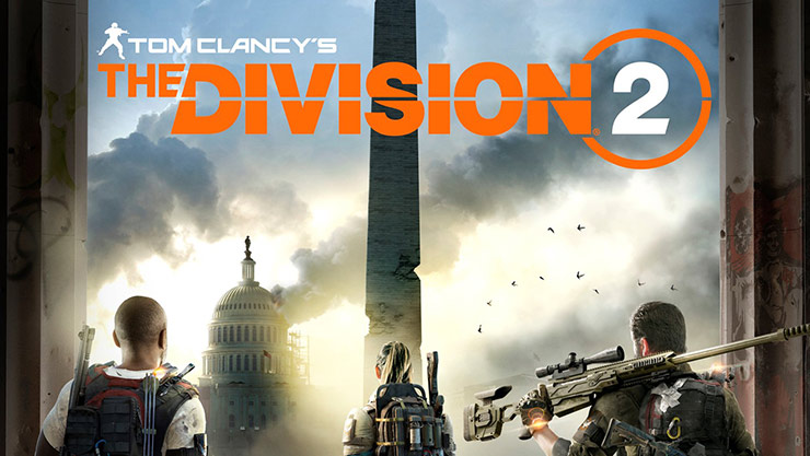 The division 2 box shot