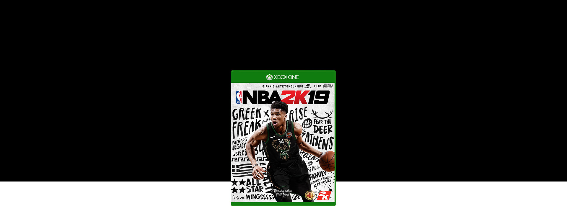 NBA 2K19-coverbillede