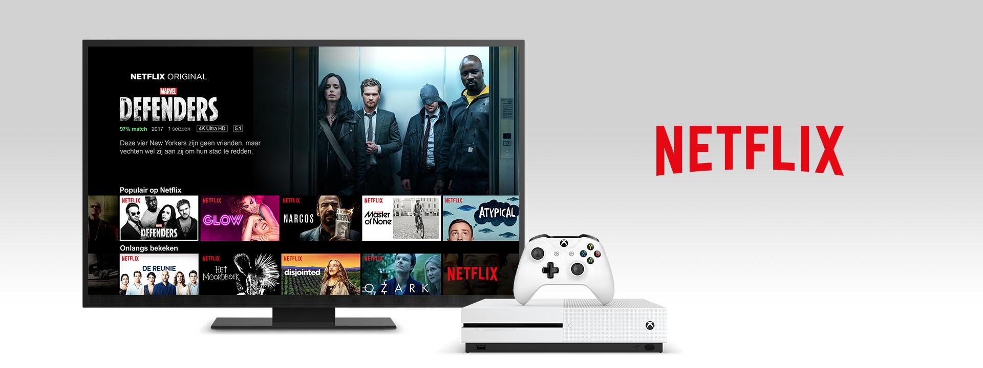 Netflix op een Xbox One