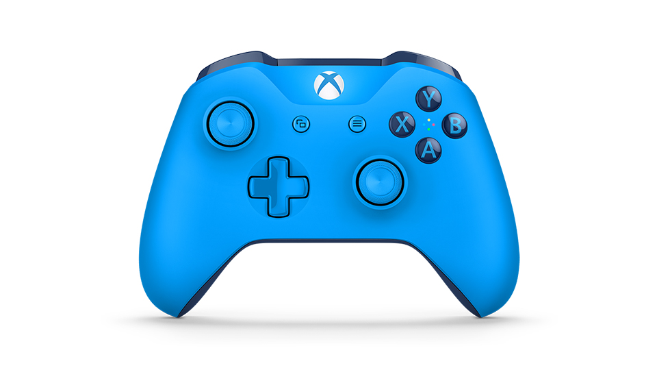 Blue Wireless Controller