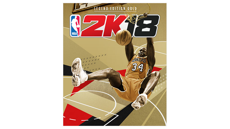 NBA 2K18 Gold Edition box shot