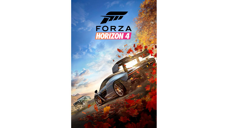 Forza Horizon 4 game box shot