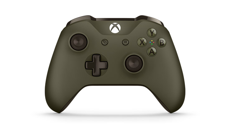 Special Edition Military Green Wireless Controller