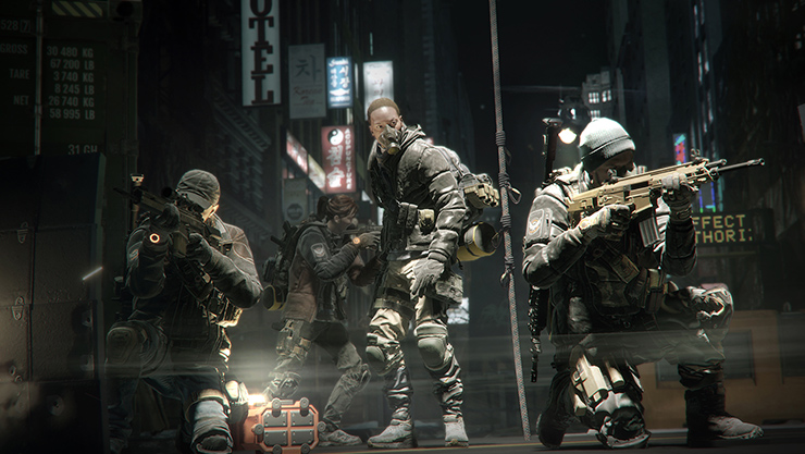 The Division-multiplayer på Xbox Live