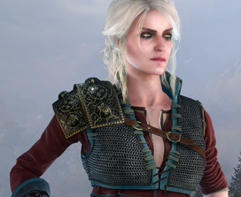 The Witcher 3: Alternatives Aussehen für Ciri