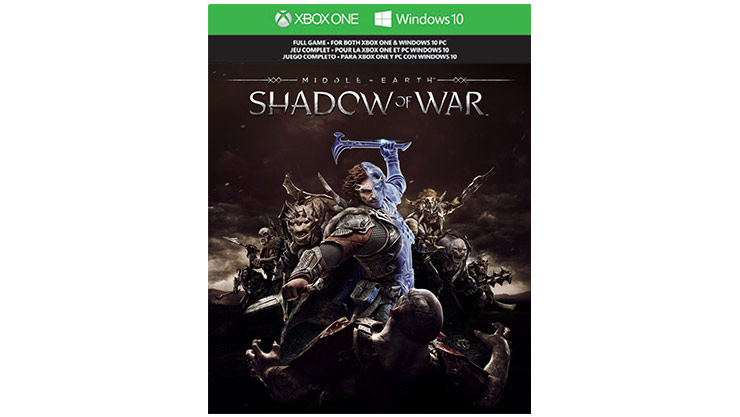 Middle Earth Shadow of War dobozának képe