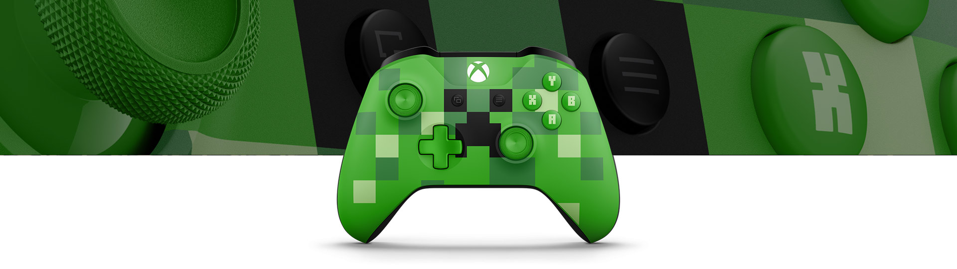 Manette sans fil Xbox – Creeper Minecraft