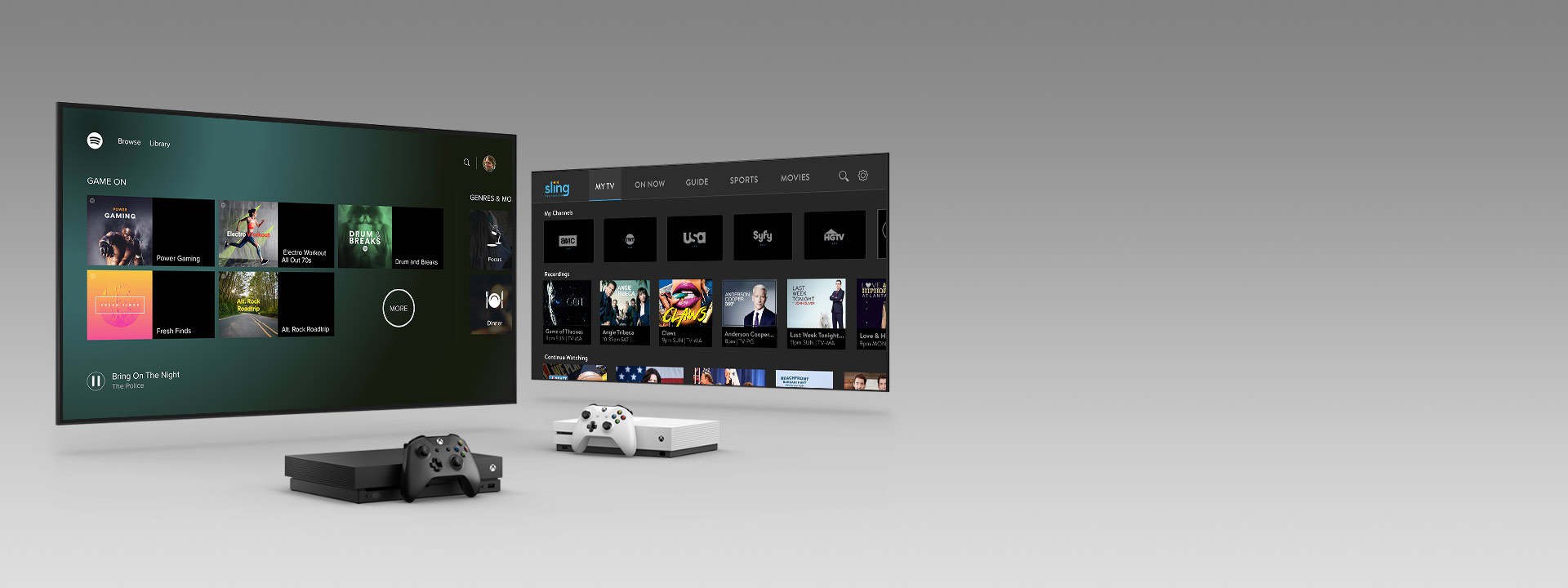 How to watch tv on xbox one x